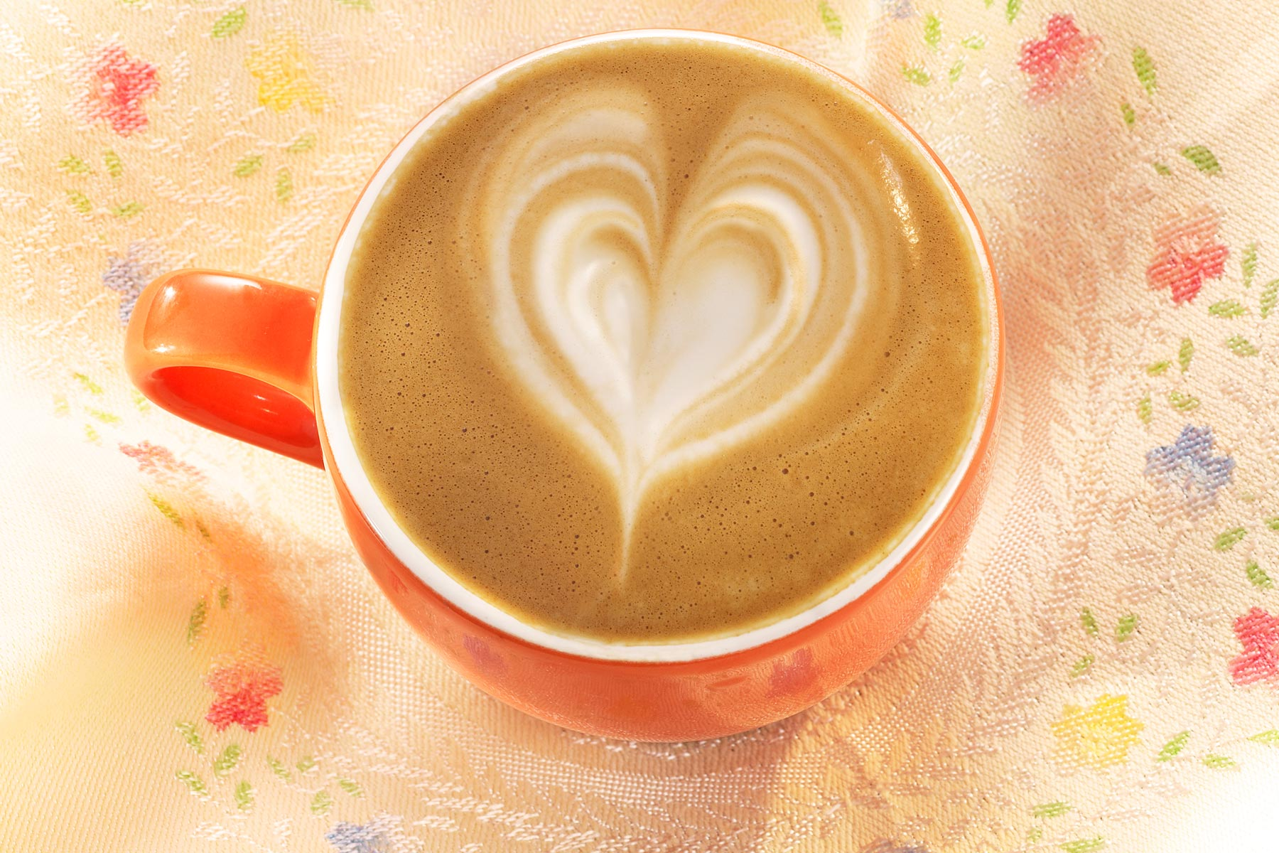 Latte Heart coffee for mothers day