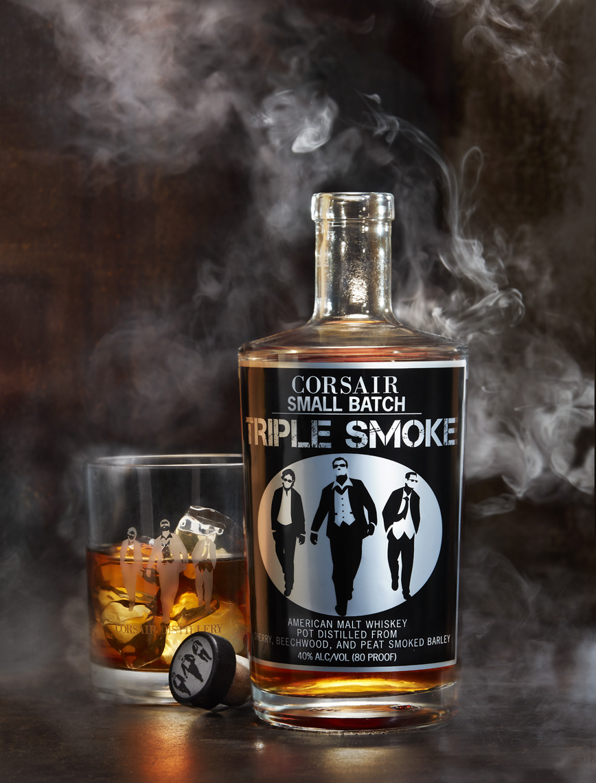 Corsair Triple Smoke Whisky in Nashville Tennessee