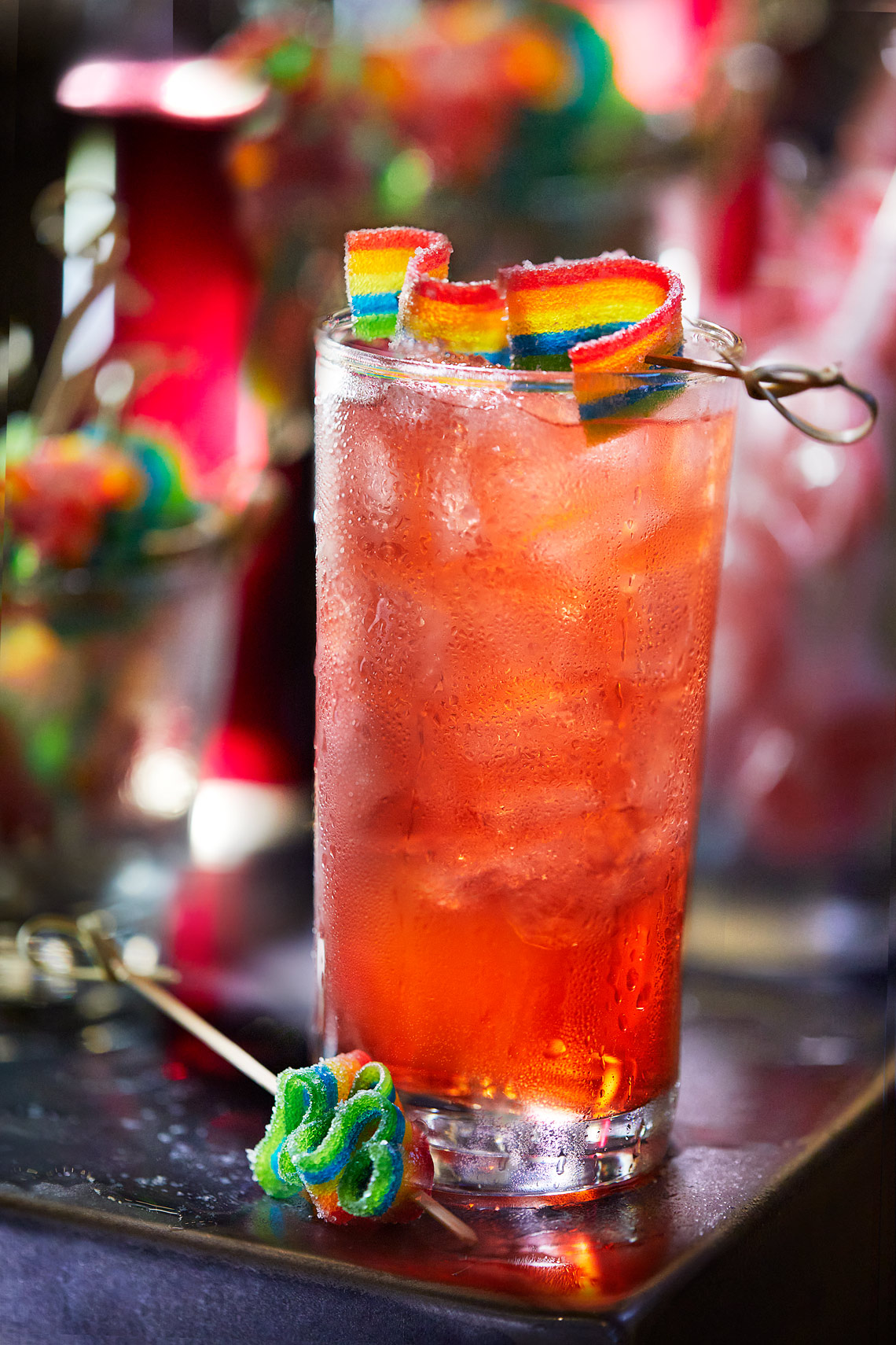 Lisa Frank cocktail at Pins Mechanical in Nashville